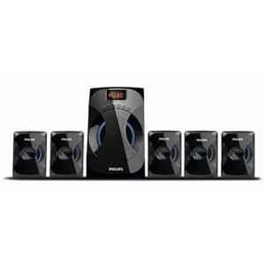 Philips 45W 5.1 Channel Black Multimedia Speakers System, SPA4040B