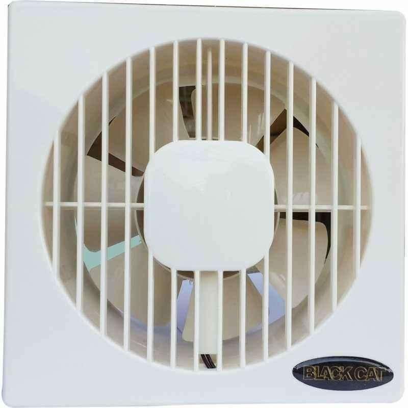 Black Cat Glass Exhaust Fan, Micro-006, Fan Size: 6 in