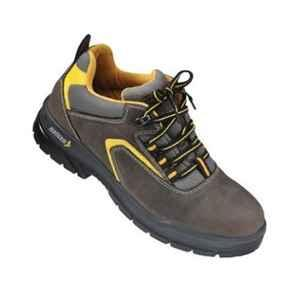 Mallcom Guina S1NB Low Ankle Steel Toe Safety Shoes, Size: 8