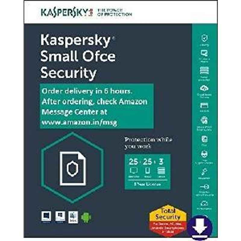 Kaspersky Small office security 25 + 3 Software