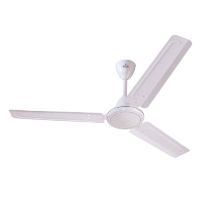 Polycab Zoomer Plus 75W 400rpm Bianco Ceiling Fan, FCESEST057M, Sweep: 1200 mm