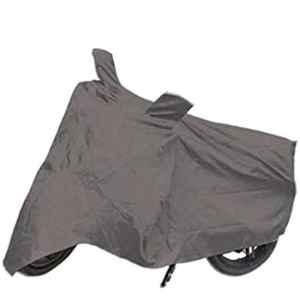 Mobidezire Polyester Grey Bike Body Cover for Piaggio Vespa