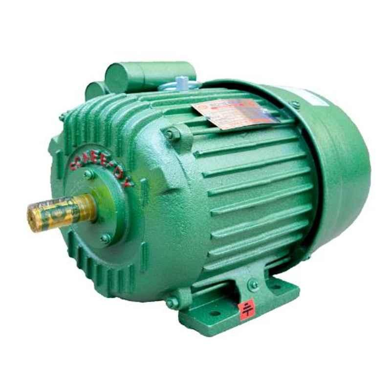 SONEE-DX 2HP 4 Pole Copper Single Phase AC Electric Motor with 1 Year Warranty