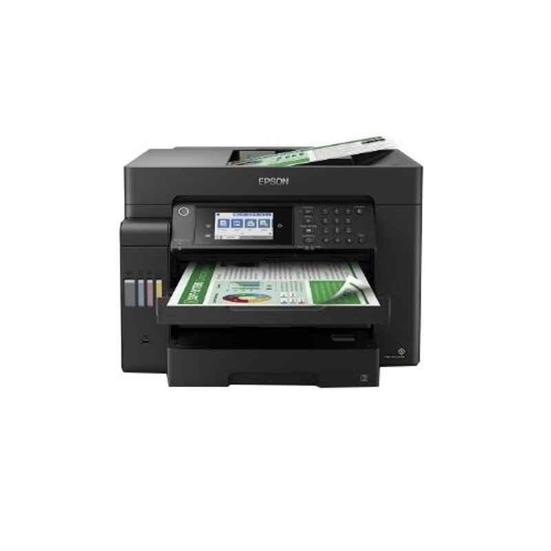 Epson EcoTank A3 Black Wi-Fi Duplex All In One Ink Tank Printer, L15150