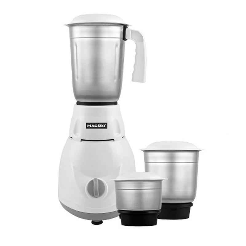 Macizo Cute Pro 500W White Mixer Grinder with 3 Jars