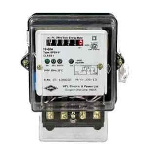 HPL 10-60A Single Phase Counter Energy Meter
