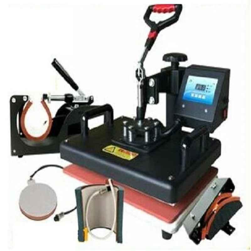 Jaiswal World 5 In 1 Heat Press Machine