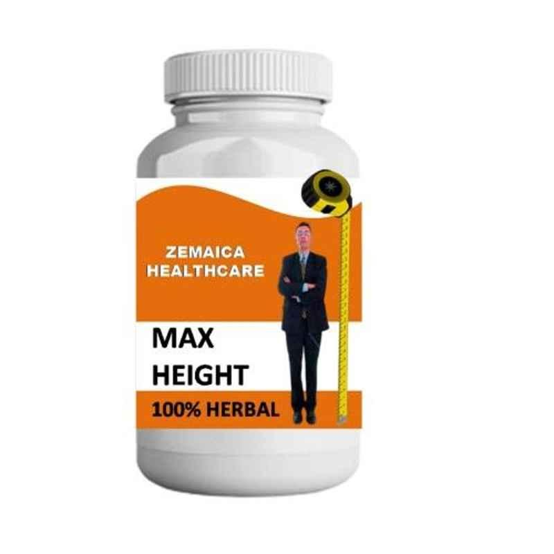 Zemaica Healthcare 100g Vanilla Flavour Max Height Growth Ayurvedic Powder