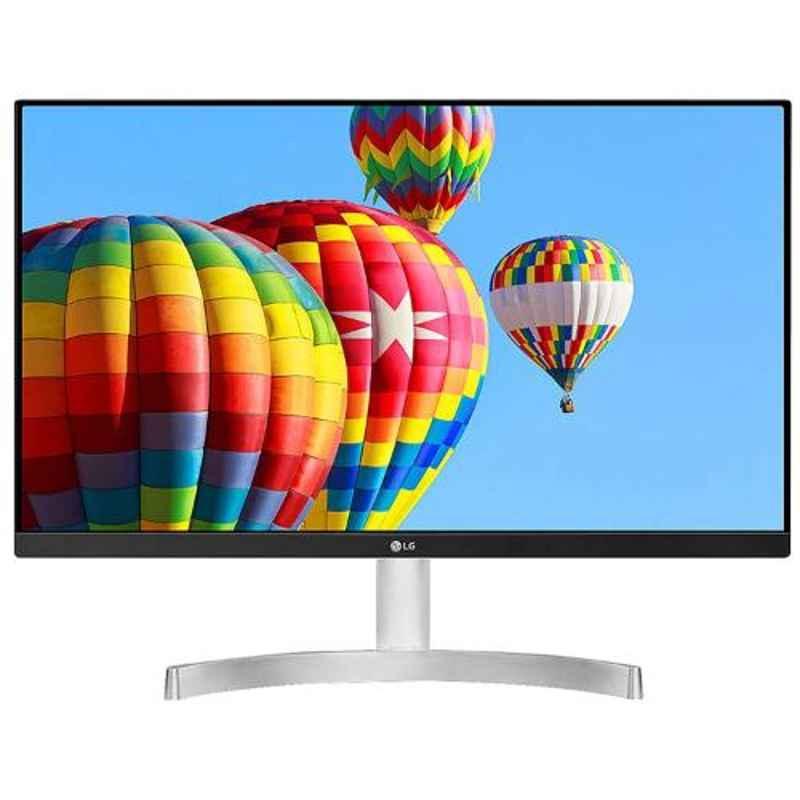 LG 24MK600M 24 inch White HD IPS Monitor