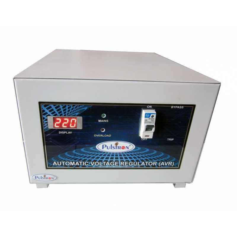 Pulstron 5KVA Main Line Double Phase Voltage Stabilizer