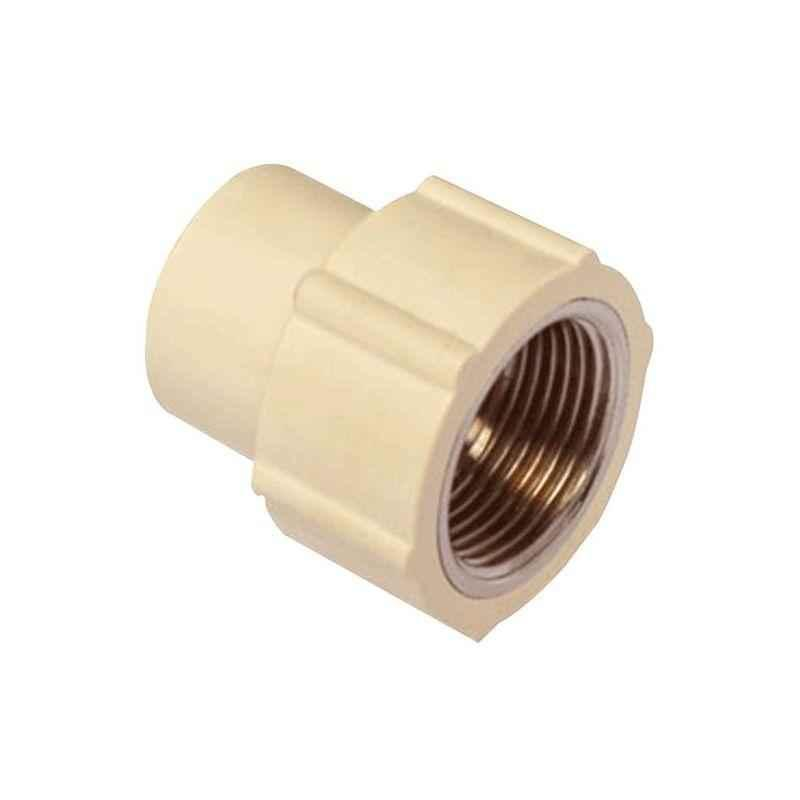 Astral CPVC Pro 25x20mm Brass Reducing Coupling, M512111216