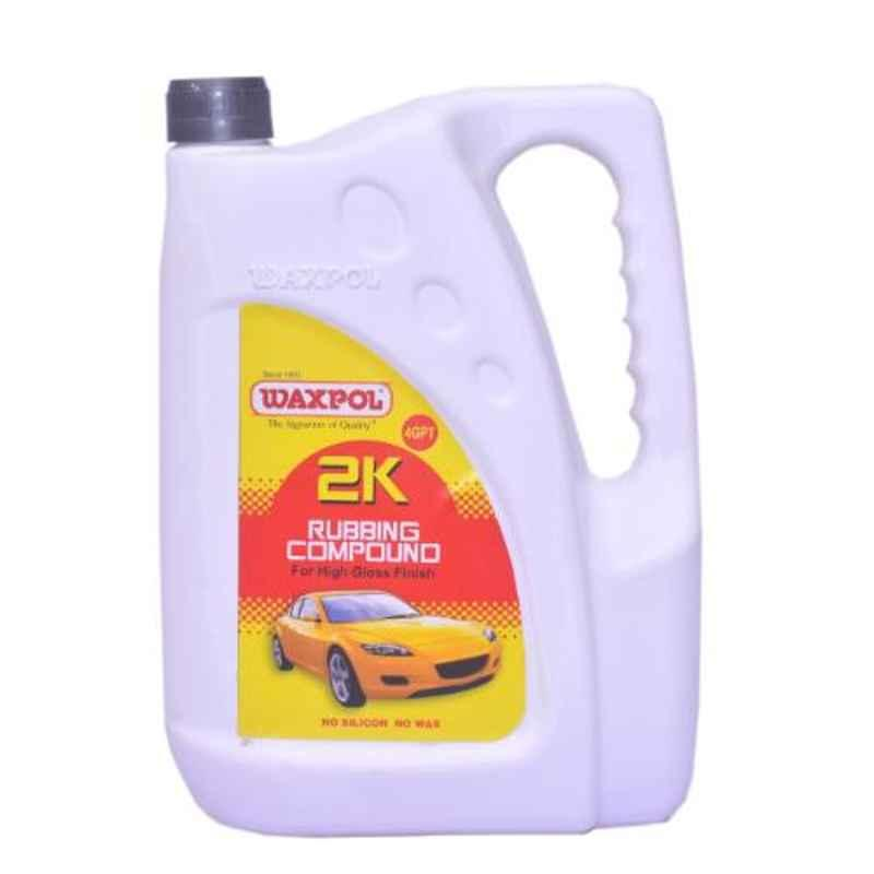 Waxpol 4kg 2K Rubbing Compound for High Gloss Finish, A2K935