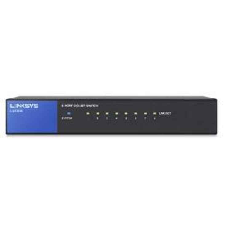 Linksys DESKTOP 8 Gigabit Ethernet 10/100/1000 Ports LGS108 AP