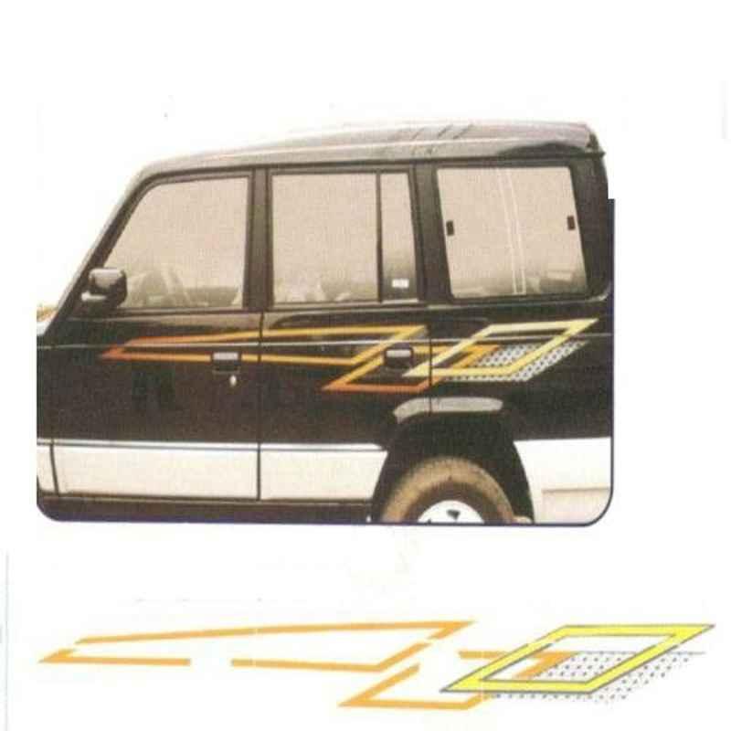 Galio Graphics Car Sticker Set for Tata Sumo Victa, GL-097G