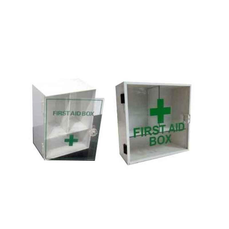 Plastikraft 15x6x15 inch Acrylic First Aid Box