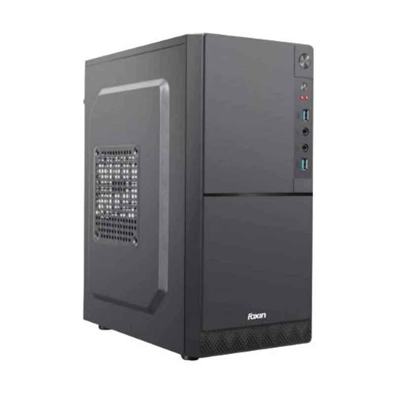 Foxin DEZIRE Aesthetic Black Mid Tower PC Cabinet with SMPS