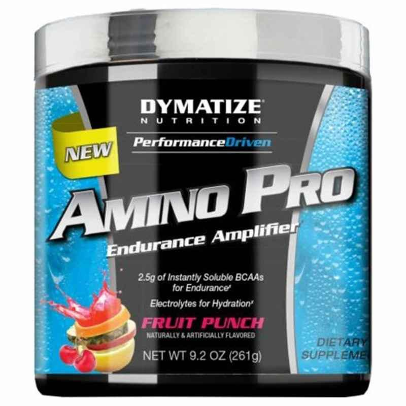 Dymatize 0.59lbs Fruit Punch Amino Pro with Caffeine