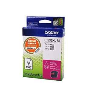 Brother LC 535XLM Magenta Ink Cartridge