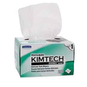 Kimtech Science 4.4x8.4 inch 280 Wipes White Delicate Task Wiper Box, 34155 (Pack of 6)
