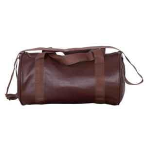 A-One 25L Brown Leather Soft Gym Bag (Pack of 2)