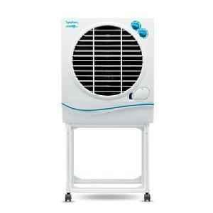 Symphony 22Litre White Air Cooler With Trolley Jumbo Jr.