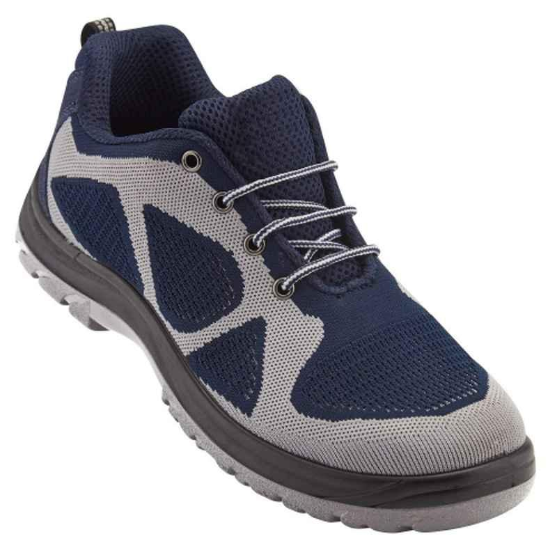 Neosafe Falcore A2012 Steel Toe Puncture Proof Midplate Sports Knitted ISI Safety Shoes, Size: 10