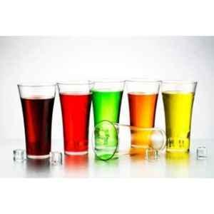 Generic 6 Pcs 250ml Plastic Unbreakable Clear Water Juice Glass Set