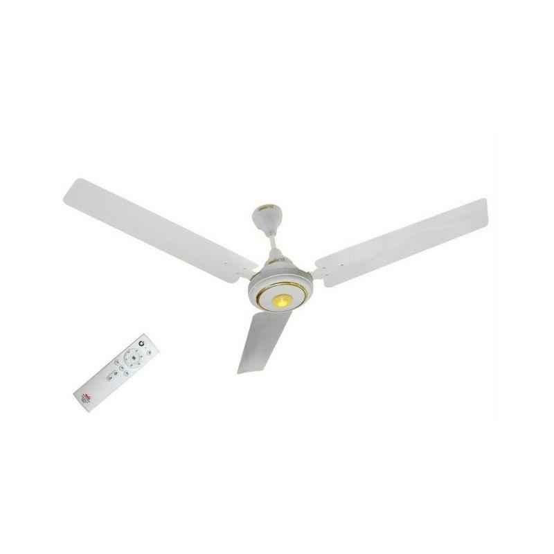 Maya Super Eco Tech 1200mm White Brushless DC Motor Ceiling Fan, CW1200