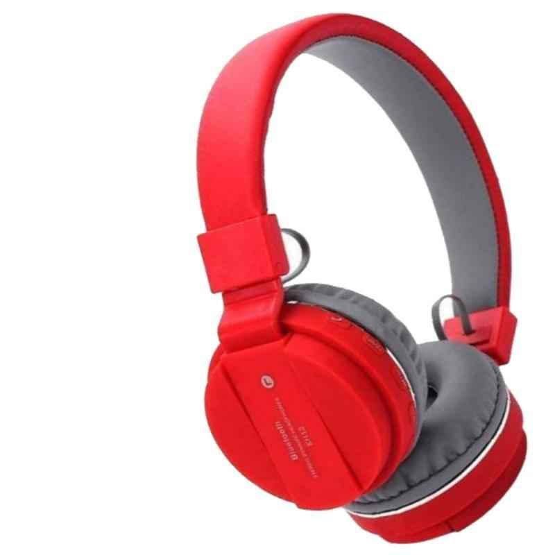 Immutable SH-12 Red Bluetooth On-Ear Headphone with Mic, IMT-51140