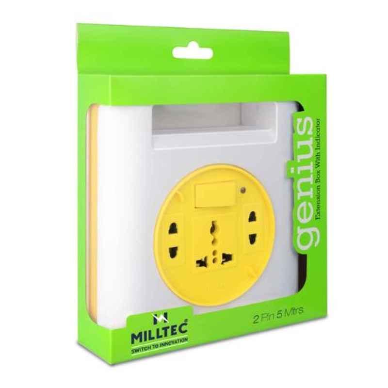 Milltec Genius 2 Pin 5m Extension Cord, 1082