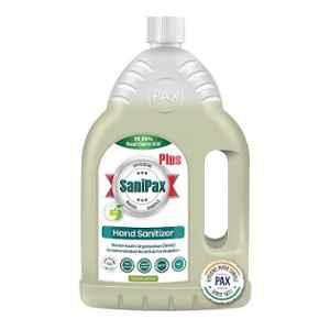 SaniPax Plus 2L Green Apple 75% Iso Propyl Alcohol Based Hand Sanitizer