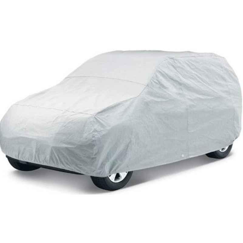 Love4Ride Silver Car Cover for Maruti Suzuki Zen