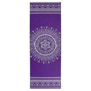 Strauss 1730x610x5mm Purple Designer Yoga Mat with Cover, ST-1416
