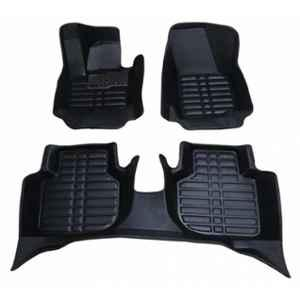 Oscar 5D Black Foot Mat For Honda CR-V 2003-2007 Set