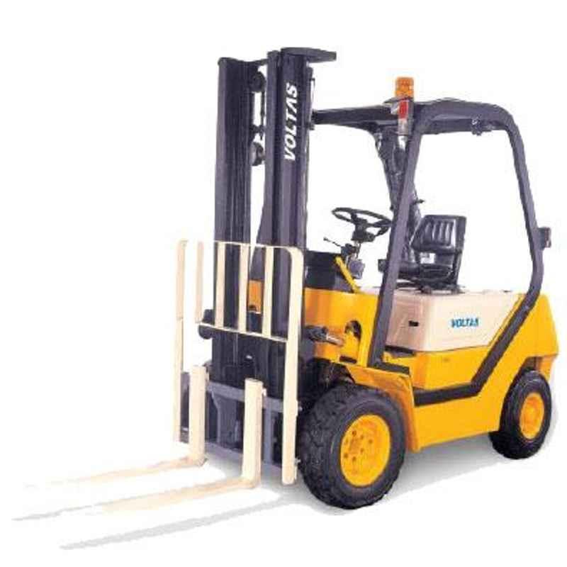 Voltas 2000kg 3 Stage Diesel Powered Forklift, DVX 20 FC BC HVT 2600
