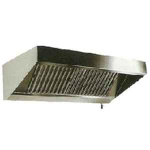 Star Fabricator 3000x750x450cm 22 Swg SS Exhaust Hood with Grease Filters