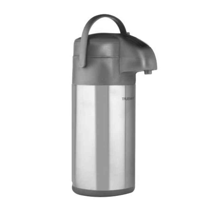 Trueware Airpot 2L Silver Chrome Finish Flask