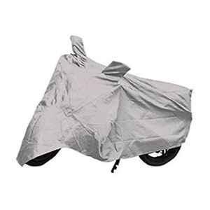 Mobidezire Polyester Silver Bike Body Cover for Bajaj Discover 125 DTS-i (Pack of 5)