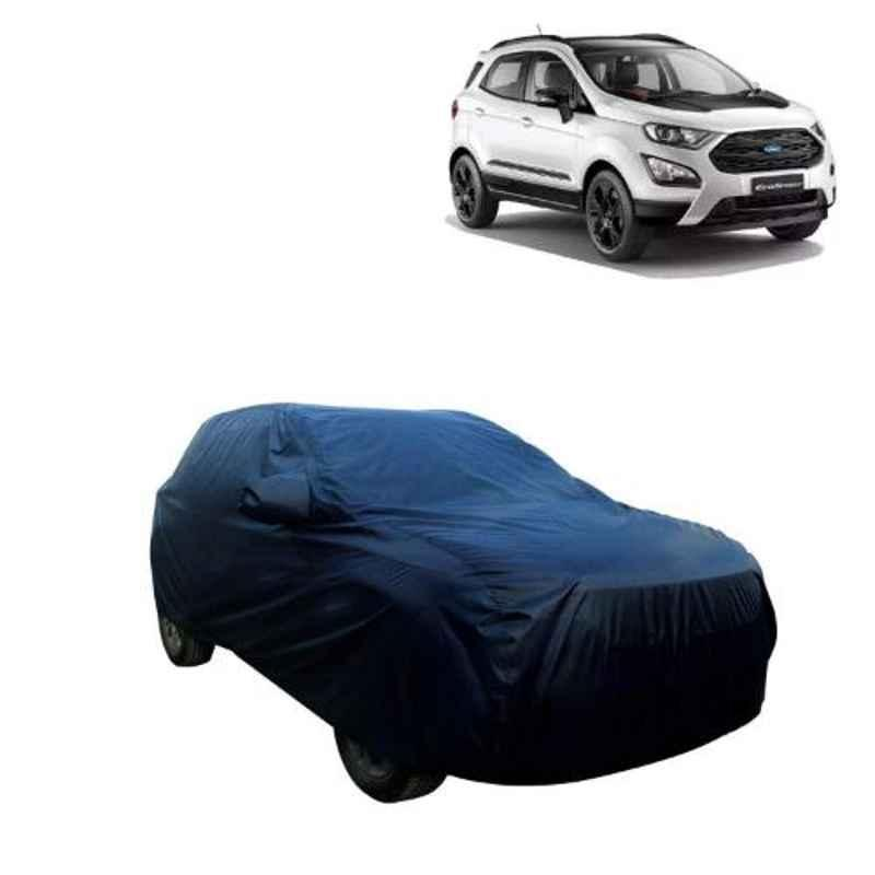AllExtreme FE7006 Blue Custom Fit Car Body Cover for Ford Eco Sport