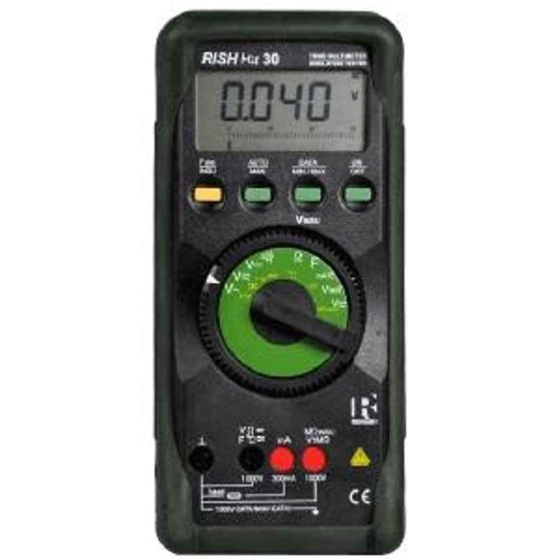 Rishabh MIT30 Insulation Multimeter AC Volt Range 1mV to 1000V