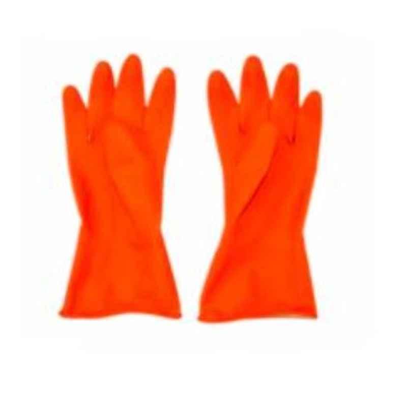 Kawach 14 inch Rubber Acid Alkali Proof Hand Gloves