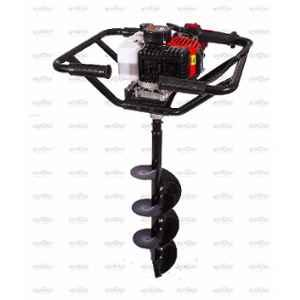 Neptune 2.07HP 52cc 2 Stroke Black Earth Auger with 10 inch Drill Bit, AG-52