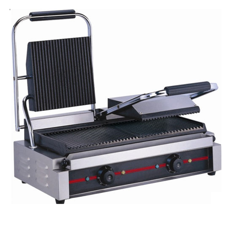Taikong FO-Double Stainless Steel Table top Sandwich Griller for Commercial Use