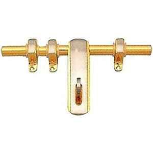Smart Shophar 8 inch Brass Gold Silver Pical Aldrop, SHA14AL-PICA-GS08-P1