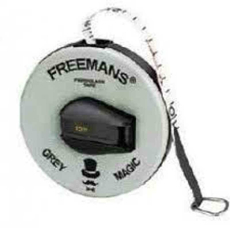Freemans Grey Magic 13mm Measuring Tape, Length: 30 m, FM30