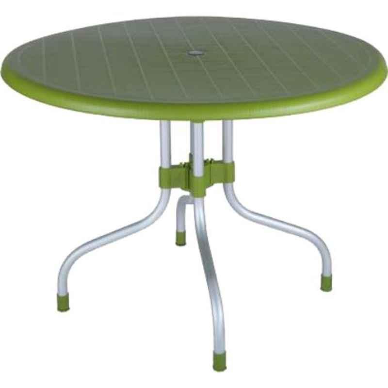 Supreme Cherry Mehndi Green Plastic & Polypropylene Outdoor Table