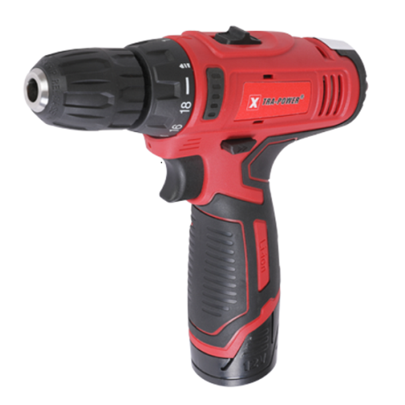 Xtra Power XPT-482 12V Li-ion Cordless Drill Machine with 2 Batteries