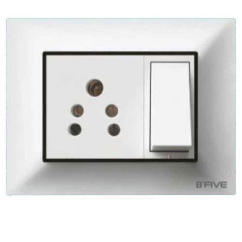 B-Five Canvas 3 Module Cover Plate, B-63C (Pack of 10)