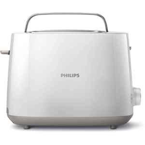 Philips 830W White Pop Up Toaster, HD2582/00