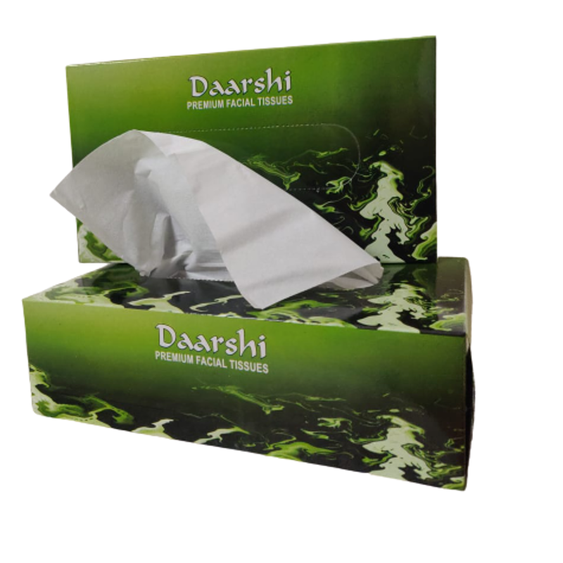 Daarshi 200 Pcs Premium Facial Tissue Box (Pack of 60)
